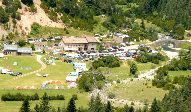 Camping Refugio San Nicolás de Bujaruelo, Ordesa, Huesca