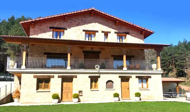Entrebosques, en Rasillo de Cameros, La Rioja