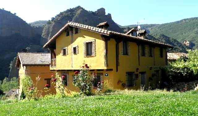 Casa Senderuela, en Panzares, La Rioja