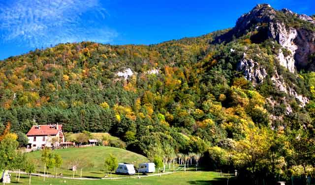 Camping Borda Bisaltico, Hecho, Huesca