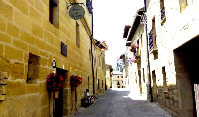 Posada de Sajazarra, en Sajazarra, La Rioja