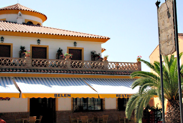 Hotel Restaurante Belén, en Colmenar, Málaga