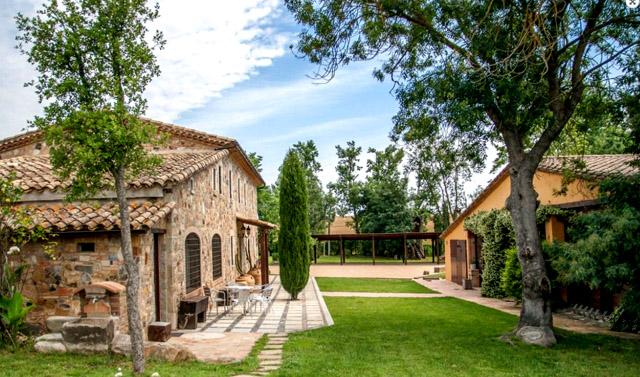 Villa Mas Figueres; en Sils, Girona.