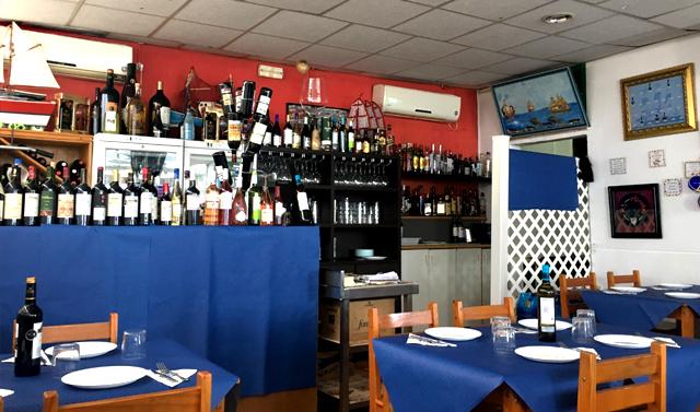 Restaurante El Lucas, en Ceuta