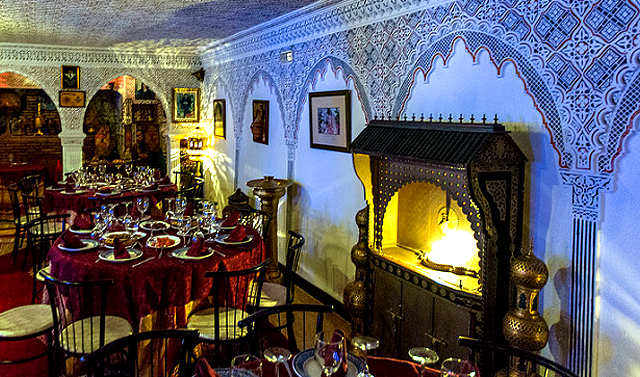 Restaurante Oasis, en Ceuta