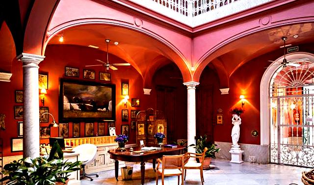 Casa Palacio de La Corte, en Zafra, Badajoz