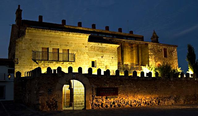 Hospedería de Alconétar, en Garrovillas de Alconétar, Cáceres