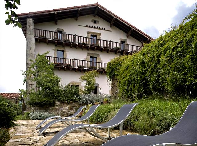 Hotel Akerrete, en Akerreta, Navarra