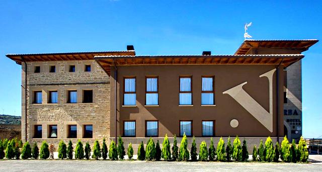 Hotel Valdorba, en Sánsoain-Leoz, Navarra
