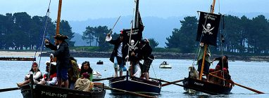 Fiesta de los Piratas en O Grove, Pontevedra