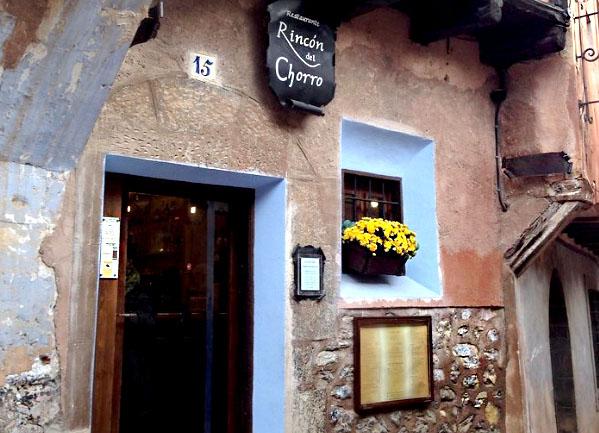restaurante-rincon-del-chorro-albarracin