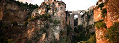 Puente Nuevo sobre el Tajo de Ronda, en Ronda, Málaga
