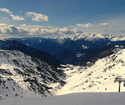 Estación de esquí Andorra