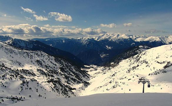 Andorra celebra la Copa del Mundo de Esquí Alpino Femenina