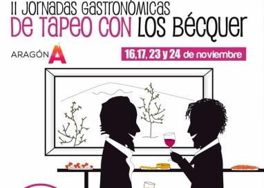 """Tarazona y Moncayo despiden las Jornadas """"De tapeo con los Bécquer"""""""