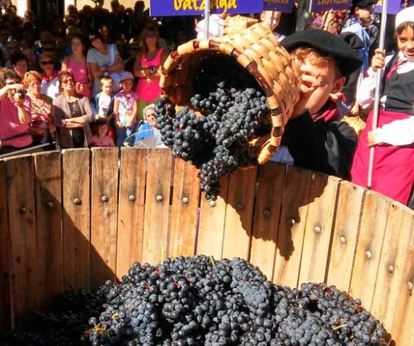 El Vino Rioja Alavesa celebra su Fiesta de la vendimia