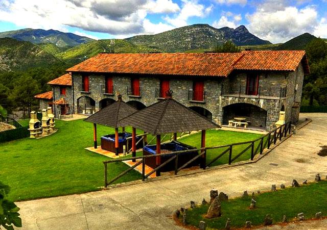 Las 12 mejores casas rurales de arag n - Casas del monte casa rural ...