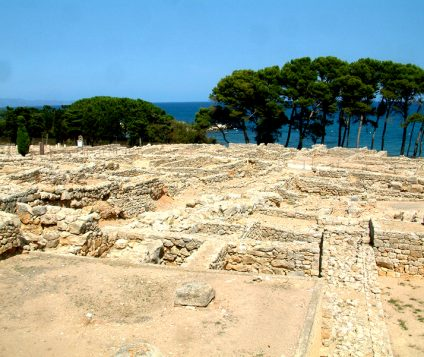 Ruínas de Ampurias, en Girona