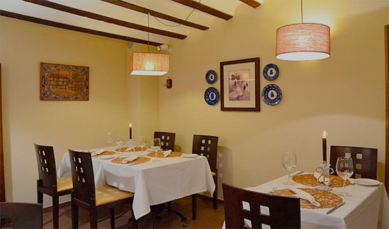 restaurante la villa de chinchón