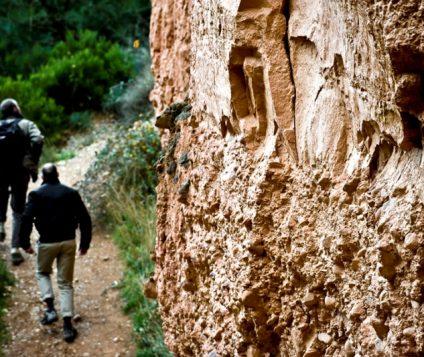 senderistas por una ruta de castilla y león