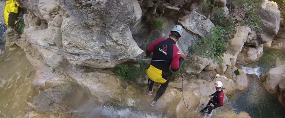 Los mejores lugares para hacer barranquismo en España - turismo-activo