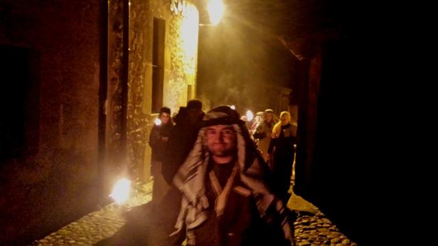 visita calatañazor noche