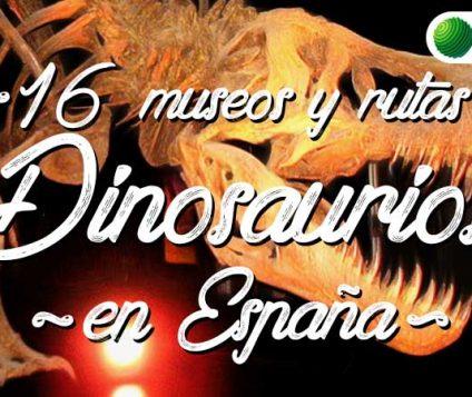 16 rutas y museos para ver Dinosaurios en España