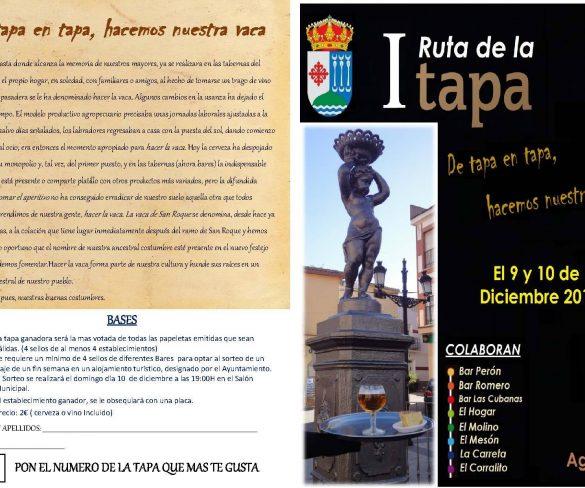 """Este fin de semana se celebra la """"I Ruta de la Tapa"""" en Agudo"""