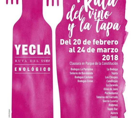 Comienza la Ruta del Vino y de la Tapa en Yecla - gastronomia-restaurantes